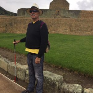 Jim Paradiso at the Inca Ruins