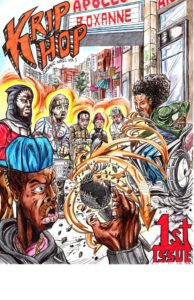 Cover art for the Krip Hop Nation Graphic Novel